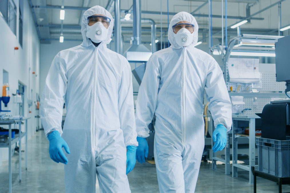 healthcare services supplies cleanroom